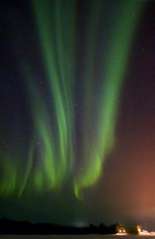 Polarna svetlost Bild-Polarlicht